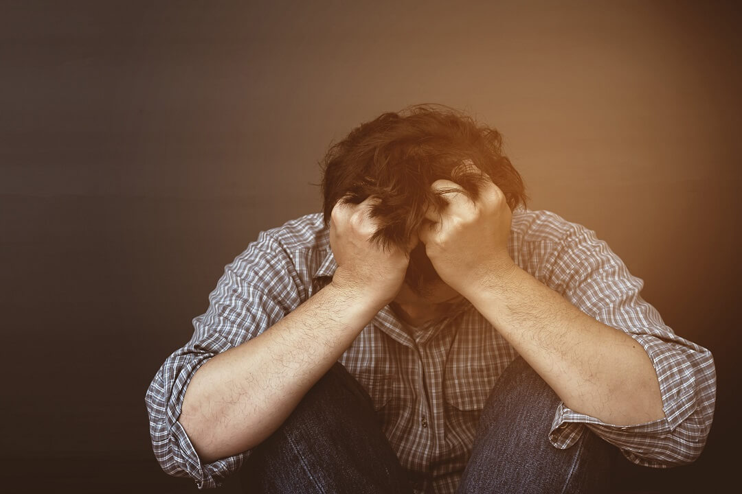 man-suffered-from-post-traumatic-stress-disorder